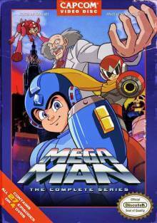 Cover der TV-Serie Megaman Star Force