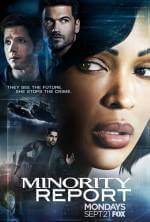 Minority Report Serien Cover
