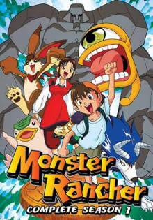 Cover der TV-Serie Monster Rancher