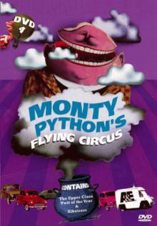 Cover der TV-Serie Monty Python's Flying Circus
