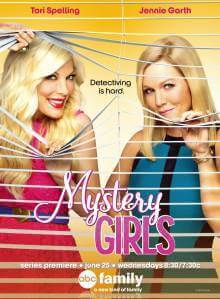 Cover der TV-Serie Mystery Girls