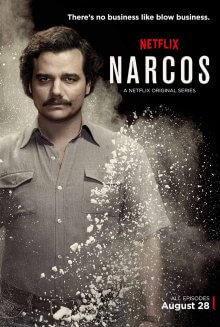 Cover der TV-Serie Narcos