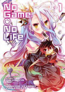 Cover von No Game No Life (Serie)