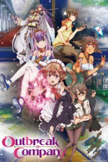 Cover der TV-Serie Outbreak Company