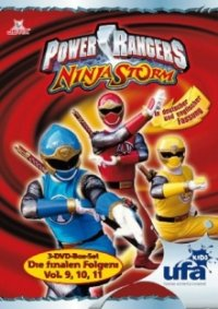 Power Rangers Ninja Storm Serien Cover