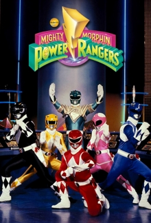 Power Rangers Serien Cover