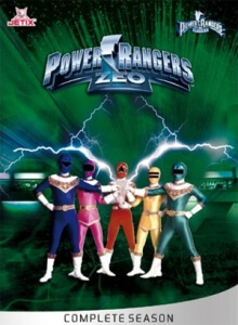 Power Rangers Zeo Serien Cover
