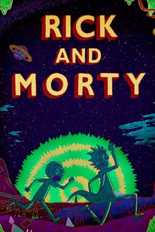 Cover von Rick and Morty (Serie)