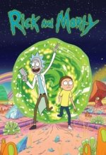 Cover Rick and Morty, Poster Rick and Morty
