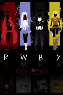 Cover der TV-Serie RWBY