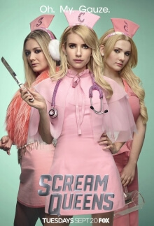 Scream Queens Serien Cover