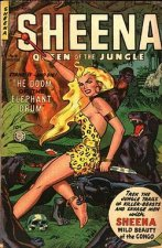 Sheena, Queen of the Jungle Serien Cover