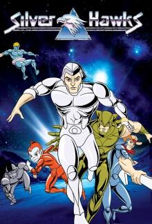 Cover von Silverhawks – Die Retter des Universums (Serie)