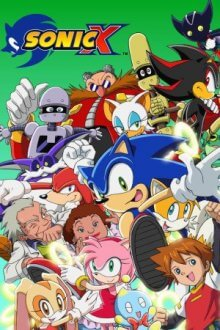 Cover der TV-Serie Sonic X
