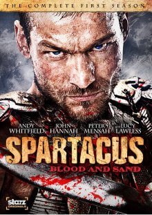Spartacus: Blood and Sand Serien Cover