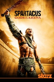Cover der TV-Serie Spartacus - Gods of the Arena