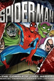 Cover der TV-Serie Spiderman 5000