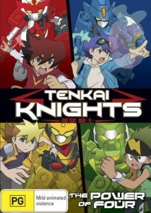 Cover der TV-Serie Tenkai Knight