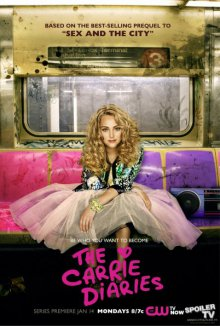 Cover der TV-Serie The Carrie Diaries