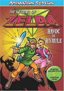 Cover der TV-Serie The Legend of Zelda