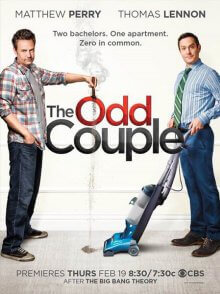 Cover der TV-Serie The Odd Couple (2015)