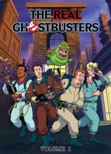 Cover der TV-Serie The Real Ghostbusters