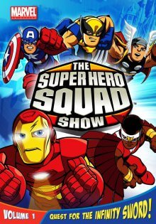 Cover der TV-Serie The Super Hero Squad Show