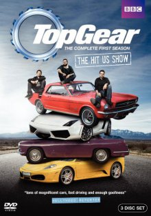 Cover der TV-Serie Top Gear USA