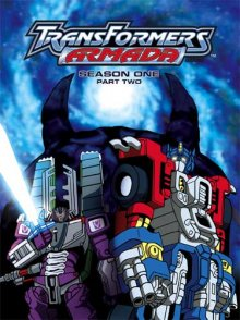 Cover der TV-Serie Transformers: Armada