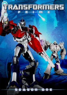 Cover der TV-Serie Transformers: Prime