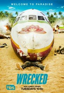 Cover von Wrecked – Voll abgestürzt! (Serie)