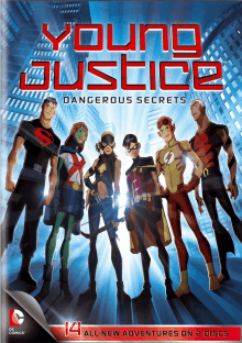 Cover der TV-Serie Young Justice