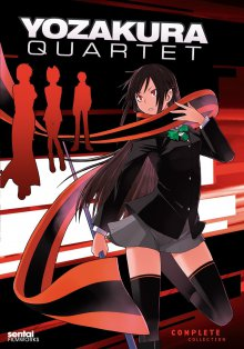 Cover der TV-Serie Yozakura Quartet