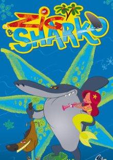 Cover von Zig & Sharko – Meerjungfrauen frisst man nicht! (Serie)